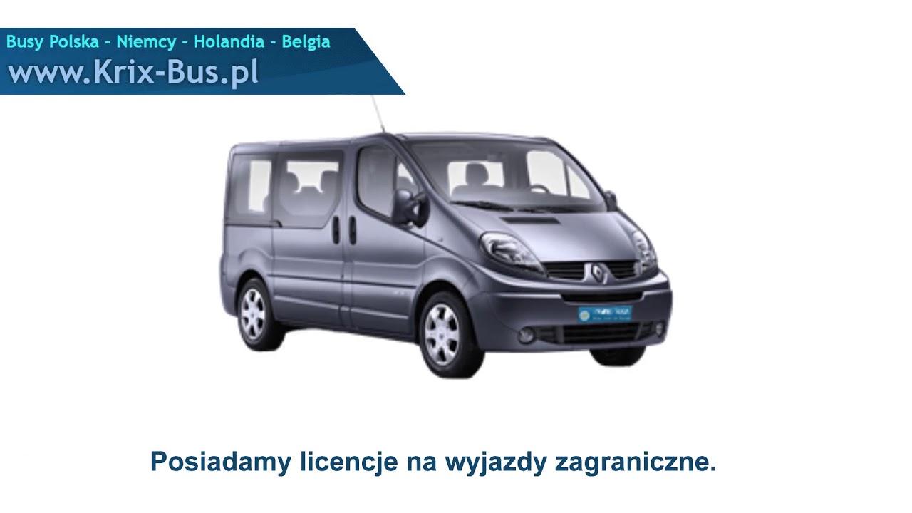 Rewelacyjny Przewozy osób Augustów Krix Bus - YouTube FY28
