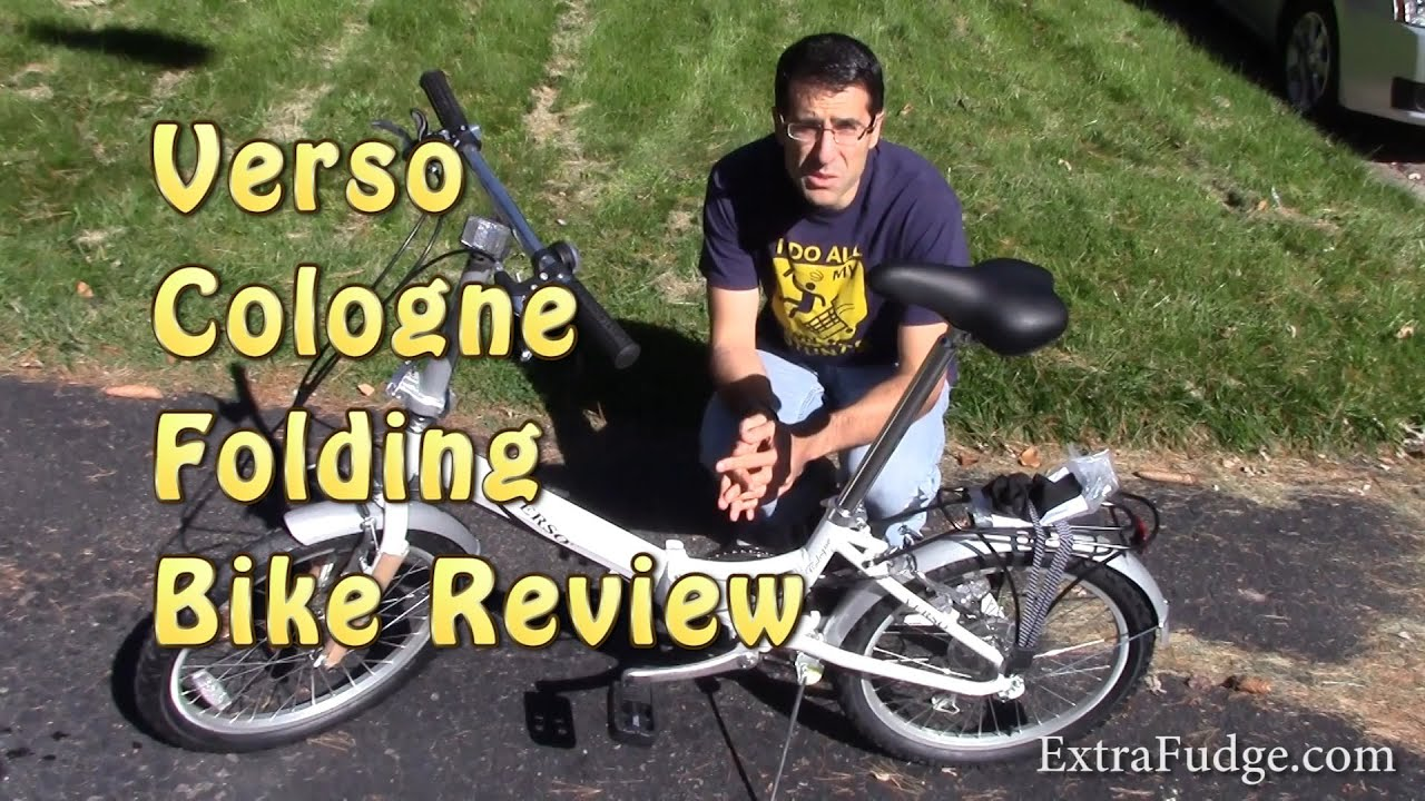 20 Verso Cologne Folding Unisex Bike Review Youtube