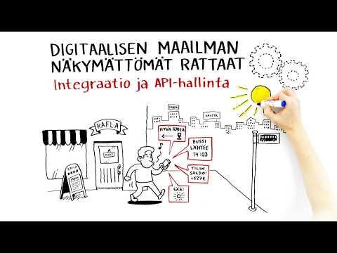 Digia: Integraatiot digitaalisen maailman näkymättöminä rattaina