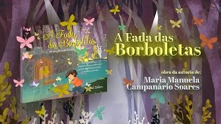 capa de A Fada das Borboletas de Maria Manuela Campanário Soares