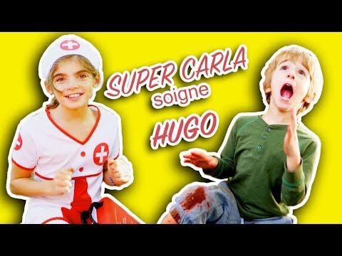 HUGO SE BLESSE MAIS HEUREUSEMENT SUPER CARLA VIENT LE SAUVER! ANGIE LA CRAZY SERIE