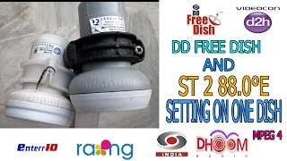 DD FREE DISH and st 88 e on one dish setting