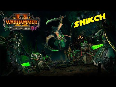 Total War WARHAMMER 2 | NUEVOS SKAVEN - Gameplay con SNIKCH | DLC The Shadow & The Blade |