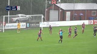 Höjdpunkter: Kopparbergs/Göteborg vann målrik match mot Vittsjö - TV4 Sport