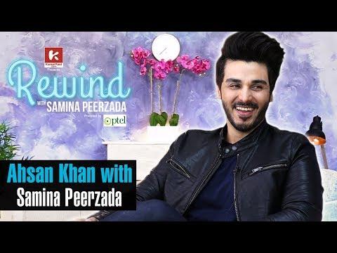 Rewind with Samina Peerzada - Ahsan Khan on Rewind with Samina Peerzada | Episode 1