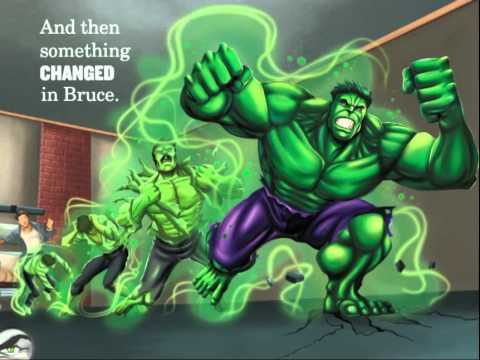 Avengers Origins: Hulk read by Stan Lee - Storybook App
