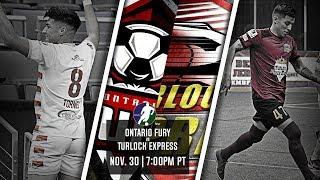 Ontario Fury vs Turlock Express