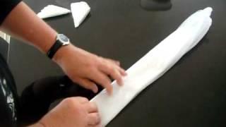 Folding Grocery Plastic Bags.AVI