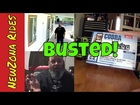 Honest Review: Harbor Freight Cobra Wireless Security Camera