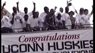 UCONN Huskies Men & Women 2004 NCAA Parade of Champions