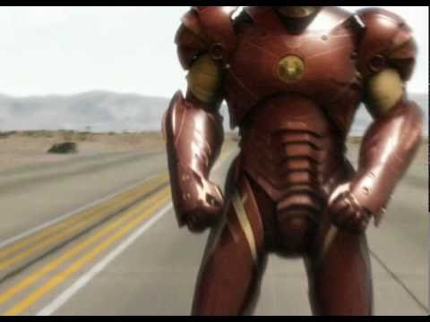 Iron Man Mark III Suit CG tests