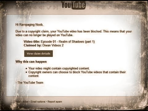 Anyone else got a copyright strike by Diwan Videos 2?... Check this out!