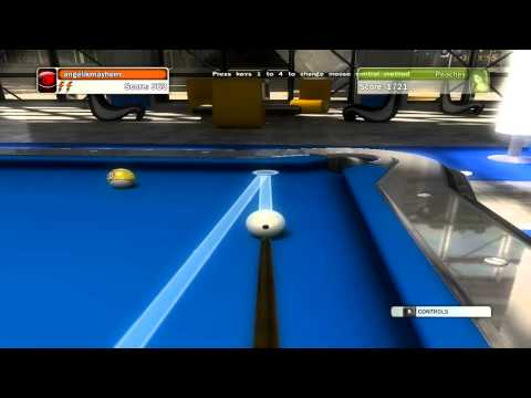 Billiards - How and When to Use English in Pool