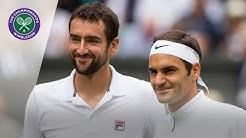 Roger Federer vs Marin Cilic | Wimbledon 2016 Replayed