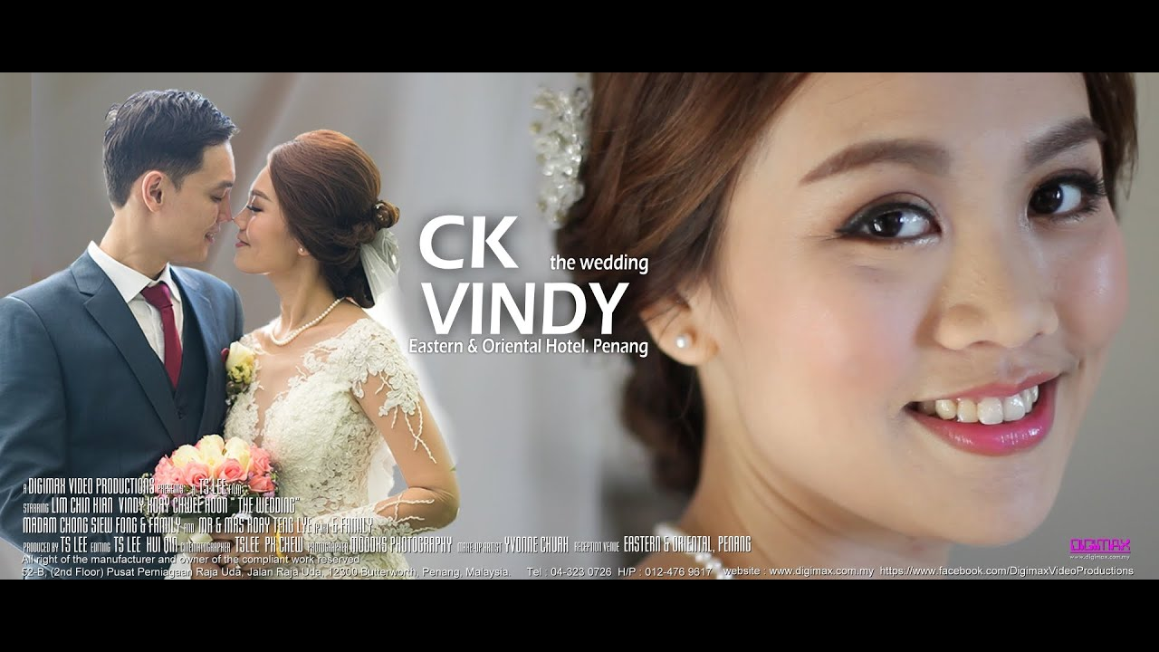 Malaysia Chinese Wedding Ck Vindy By Digimax Video Productions You