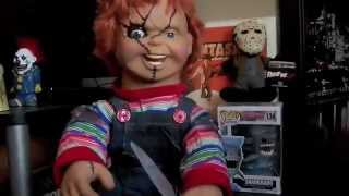 Lifesize Animatronic Talking Chucky Doll Spirit Halloween Exclusive