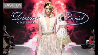 DIANA COUTURE X LE CIEL DESIGN Spring Summer 2018 Art Hearts Los Angeles - Fashion Channel