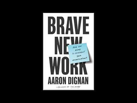 """""""Book Talk"""" guest Aaron Dignan author """"Brave New Work"""" Mp3"""