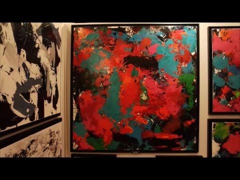 Interview De Céline Weber Artiste Peintre Youtube