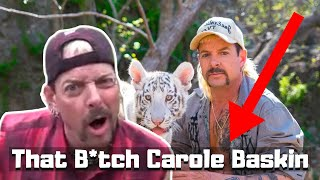 Joe Exotic hating Caŗole Baskin for 3 minutes..