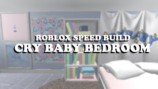 """♡ ROBLOX SPEED BUILD 2 ♡ """"CRY BABY"""" BEDROOM ♡"""