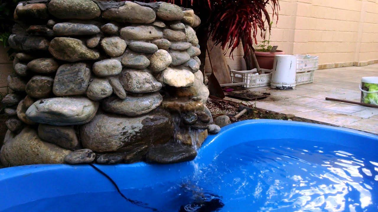 lago de pl stico e filtro barrio caseiro youtube