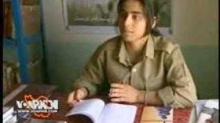 گفتکو با یکی از دختران حزب دمکرات کردستان