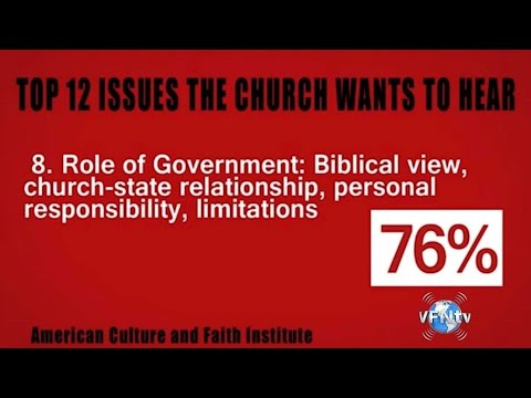 #1643 Poll Revealed 12 ISSUES Christians want Pastors to Preach About from YouTube · Duration:  27 minutes 1 seconds