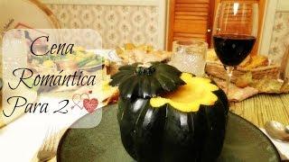 Cena Romántica Para Dos (Crema de Calabaza) Thumbnail