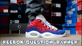"Reebok Question ""Banner"" HD Review + On-Foot!!!"