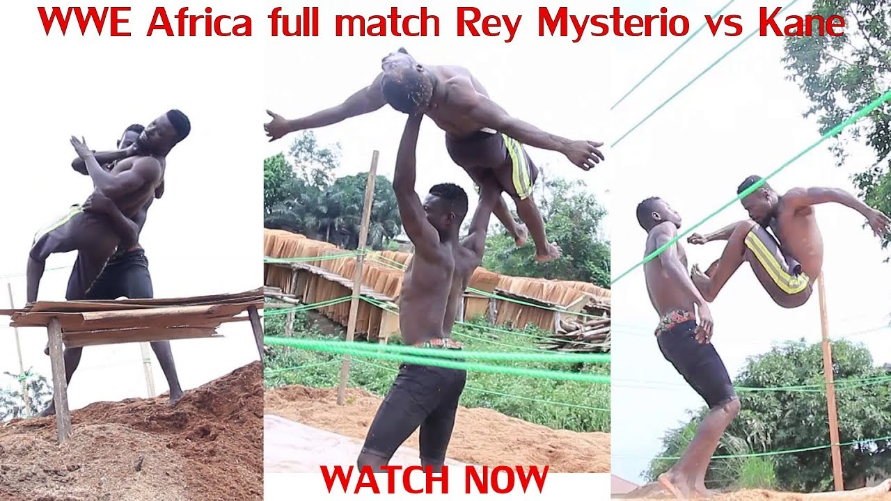 Wwe Africa full match of  Rey Mysterio vs Kane is out now 2019 latest wwe Africa  Trending video