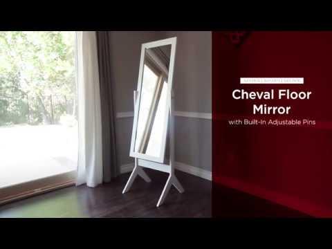 SKY2974 SKY2975 SKY2976 Cheval Floor Mirror - YouTube