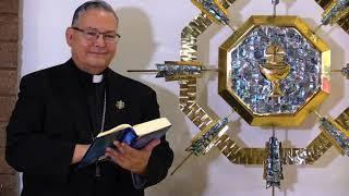 Charla con El Obispo Auxiliar Eduardo Nevares acerca de la Eucaristía