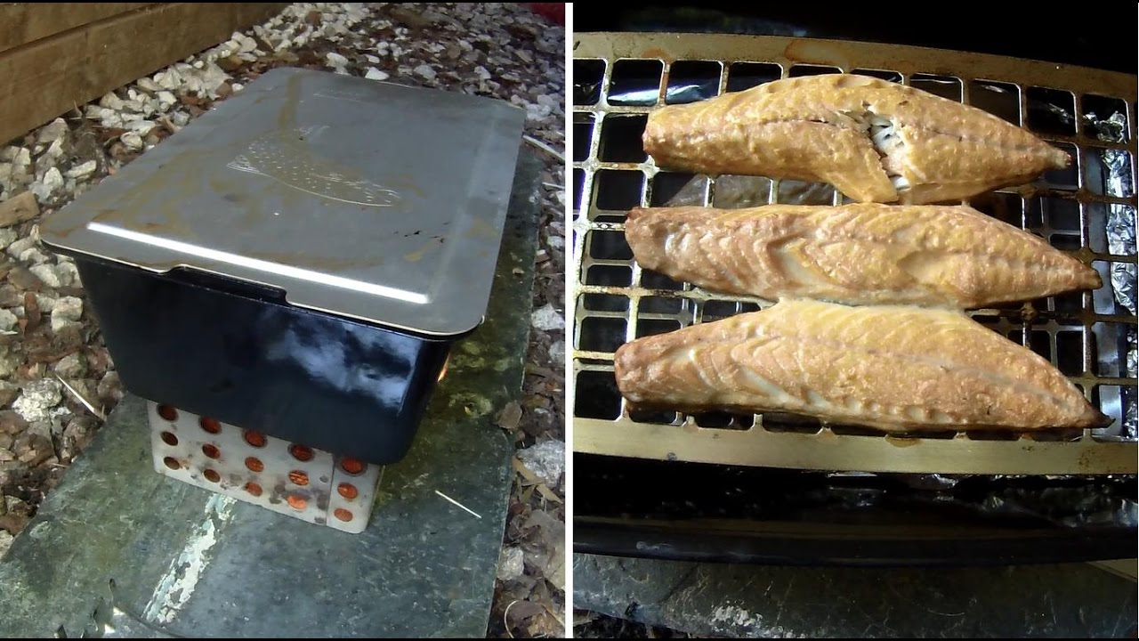 Catch and cook fish and shellfish smoking mackerel for Catch and cook fish