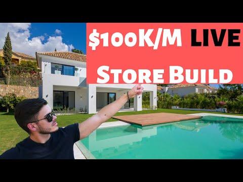 Building a $100K/M Store LIVE | Shopify Dropshipping 2019 thumbnail