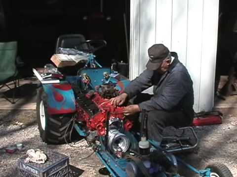 V8 Lawn Tractorwmv YouTube