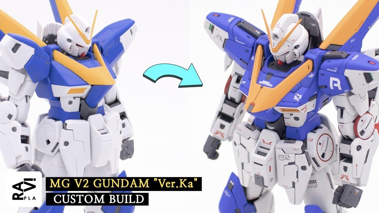 Gunpla Custom / MG V2 Ver.Ka FULL BUILD
