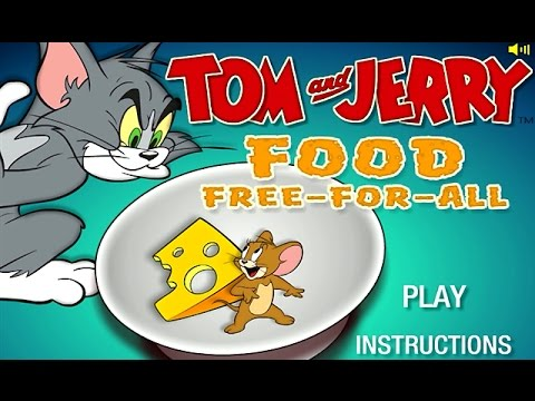 Tom And Jerry Food Free For All Cartoon Network Games Youtube