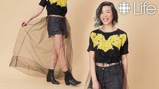 DIY Sheer Tulle Skirt | withwendy | CBC Life