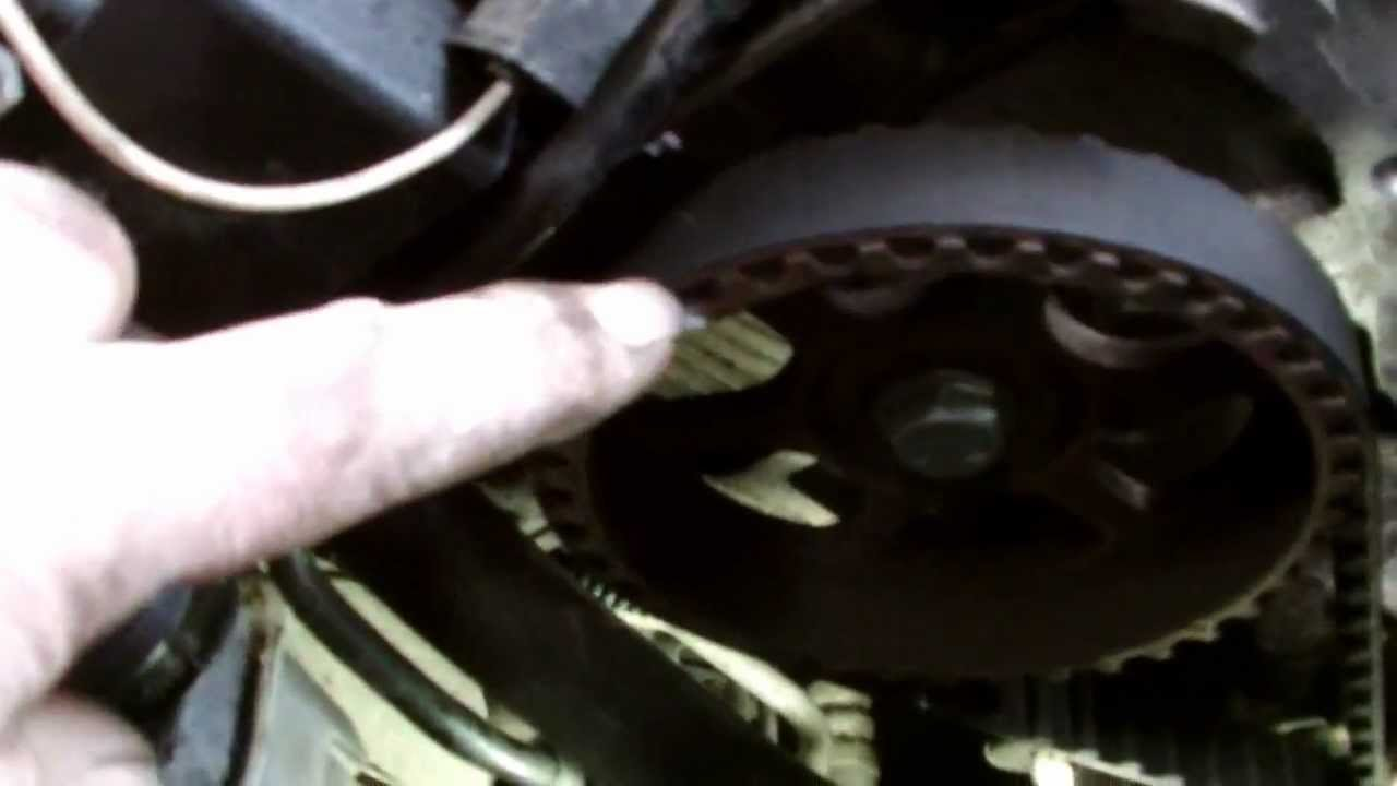 Renault Clio Timing Belt And Oil Seal Replacment Youtube