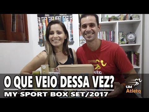 O QUE TEM NA CAIXA SURPRESA? MY SPORT BOX SETEMBRO 2017 | Unboxing #19 | Um Atleta