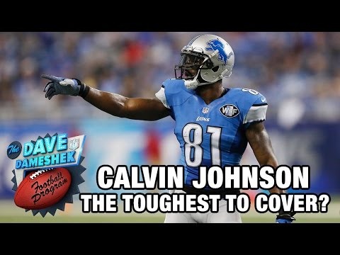 Is Calvin Johnson the toughest wide receiver to cover? | DDFP