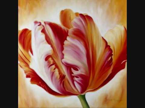 Bloemen als schilderijen youtube for Schilderijen van bloemen