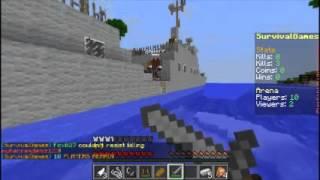 Minecraft:  Servidor de Survival Games pirata