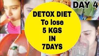 Detox Diet Plan to lose weight fast  How to lose weight fast  Rimi's Lunch Box