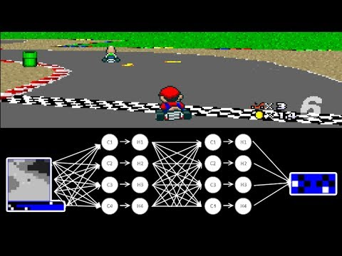 MariFlow - Self-Driving Mario Kart w/Recurrent Neural Network