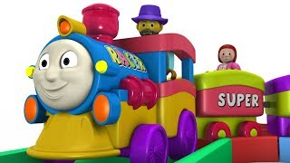Train - Kids Videos For Kids - Cartoon Cartoon - Trains for Kids - Cartoon - Toy Factory Train