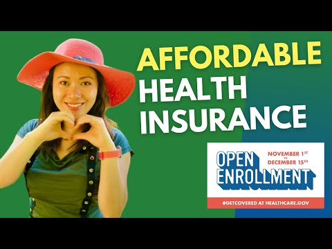 The Best and Most Affordable Health Insurance in America 2020 #feisworld #openenrollment #ACA