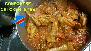 How to Cook Congolese Chicken Stew Soso Ya Sauce