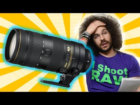 What Was Nikon Thinking? Nikon 70-200 2.8E FL ED VR Lens Preview / Rant: Priced NOT TO SELL